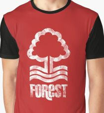 Nottingham Forest Distressed Logo Graphic T-Shirt