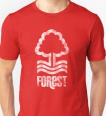 Nottingham Forest Distressed Logo Unisex T-Shirt
