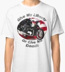Triumph Bonneville Give Me Liberty Classic T-Shirt