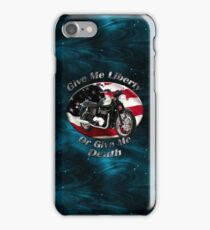 Triumph Bonneville Give Me Liberty iPhone Case/Skin