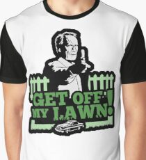 Camiseta gráfica ¡Sal de mi césped!