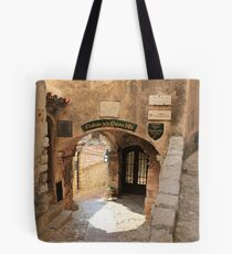Chateau de la Chèvre d'Or Tote Bag