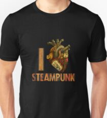 I Heart Steampunk Unisex T-Shirt