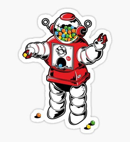 Candybot Sticker