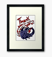 Thank You For Nothing, You Useless Reptile (HTTYD) Framed Print