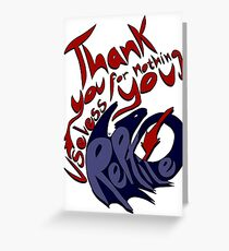 Thank You For Nothing, You Useless Reptile (HTTYD) Greeting Card