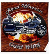 Honda Gold Wing Road Warrior Poster
