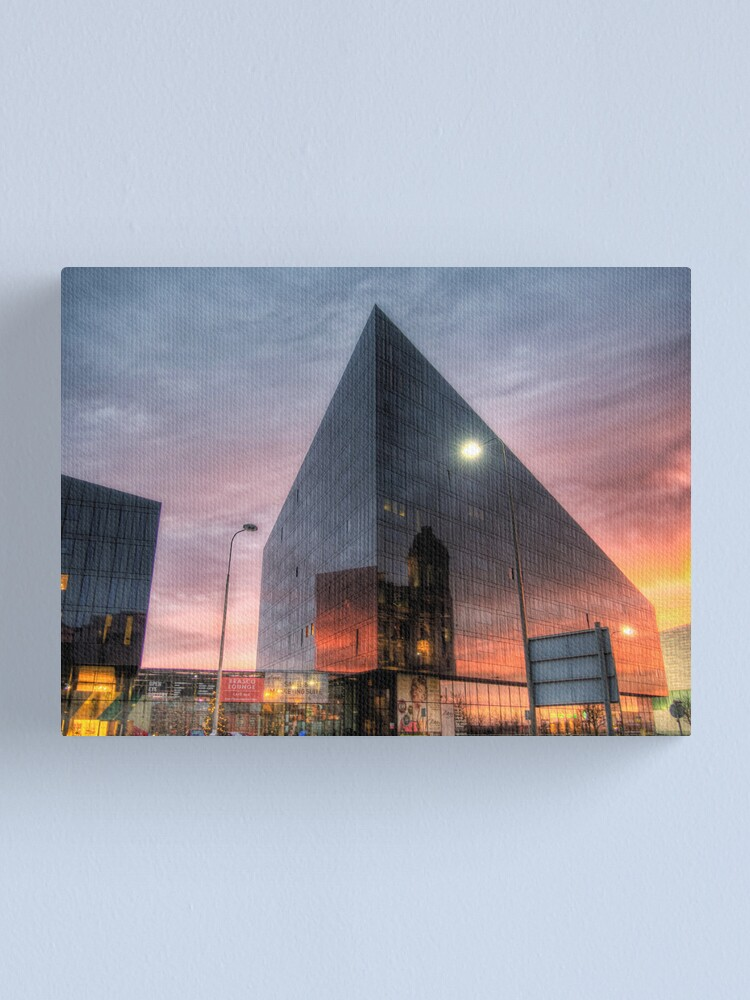 Alternate view of Liverpool Reflection - Man Island Canvas Print