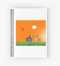 What's going on in the jungle? Spiral Notebook
