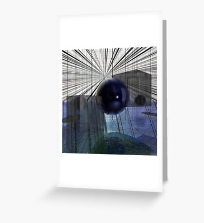 Blink Of An Eye Greeting Card