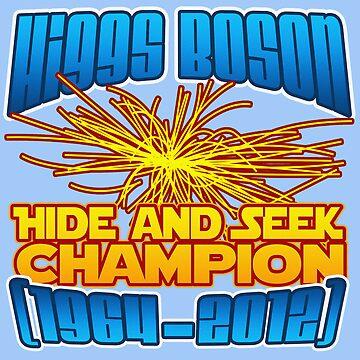 Higgs Boson by RoamingGeek