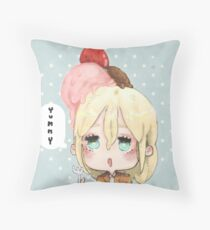 Yummy Kurista Throw Pillow