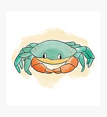 Colorful Crab Photographic Print