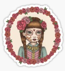 The Little Sister - Sugarskull sisters Sticker