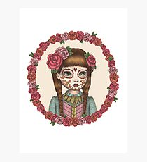 The Little Sister - Sugarskull sisters Photographic Print