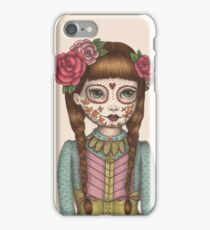 The Little Sister - Sugarskull sisters iPhone Case/Skin