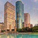 Houston Skyscrapers by RayDevlin