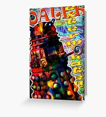 Dalek - Exterminate! by Mark Compton Greeting Card