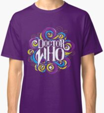Whimsically Wibbly Wobbly Timey Wimey - Dark Shirt The Second Classic T-Shirt