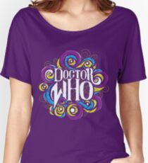 Whimsically Wibbly Wobbly Timey Wimey - Dark Shirt The Second Women's Relaxed Fit T-Shirt