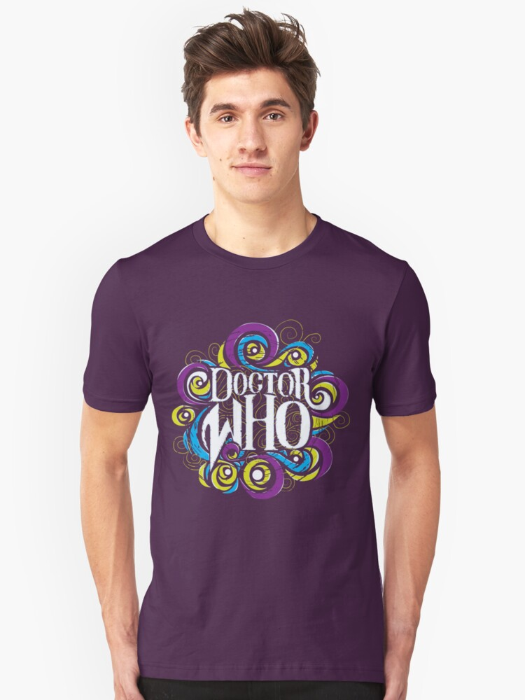 Whimsically Wibbly Wobbly Timey Wimey - Dark Shirt The Second Unisex T-Shirt Front