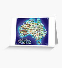 Pictorial Australia Greeting Card