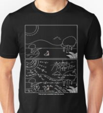 How scientists see the world [dark] T-Shirt
