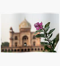 Mughal Flower Poster