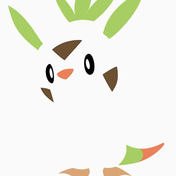 Pokemon - Minimalist Chespin by Absubble