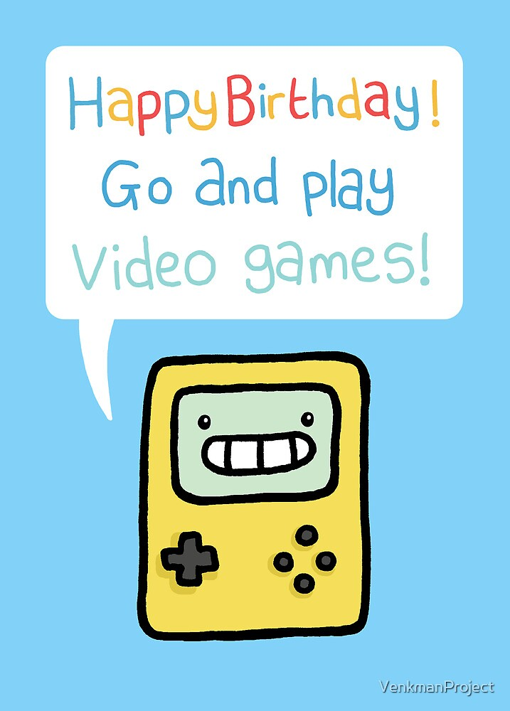 Video Game Birthday Card by VenkmanProject – Happy Birthday Cards Video