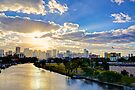Sunrise over Miami by Bill Wetmore