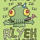 Cthulhu Birthday Card! by VenkmanProject