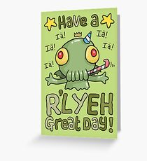 Cthulhu Birthday Card! Grußkarte