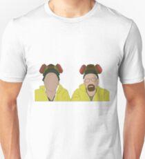 Jesse & Walt, Breaking Bad Faceless Slim Fit T-Shirt