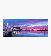 Hillarys Boat Harbour Sunset Photographic Print