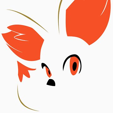 Pokemon - Minimalist Fennekin by Absubble