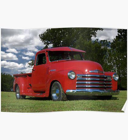 1948 Chevrolet Pickup Poster