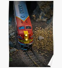 Toy Train III ~ Miniatures Series  Poster