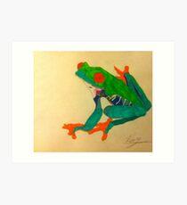 Frogger Art Print
