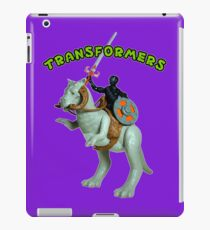 Because Action Figures iPad Case/Skin