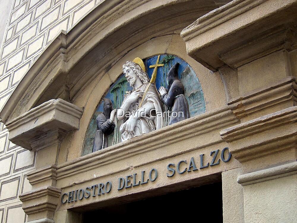 Chiostro Dello Scalzo, Florence, Italy by David Carton