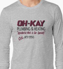 Oh-Kay Plumbing Long Sleeve T-Shirt