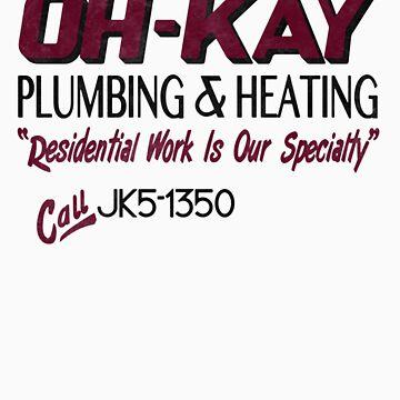 Oh-Kay Plumbing by ironsightdesign