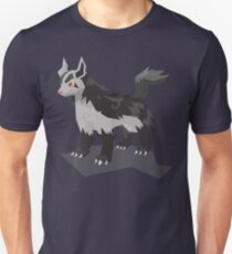 Cutout Mightyena Unisex T-Shirt