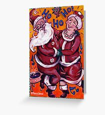 'HO! HO! HO! Greeting Card