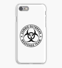 ZOMBIE OUTBREAK RESPONSE TEAM iPhone Case/Skin