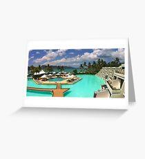Hayman Pool Greeting Card