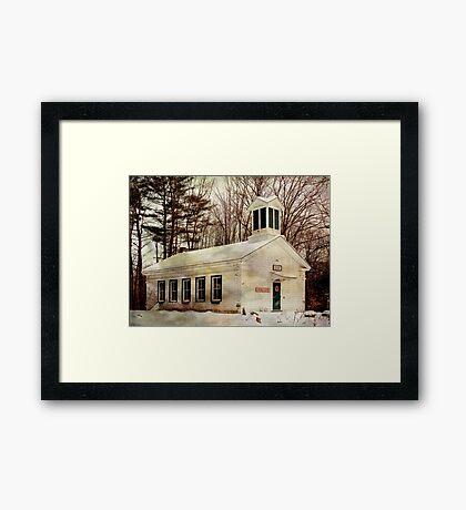 Phillipsport Community Center Framed Print