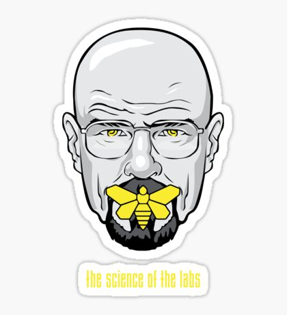 The Silence of the Labs Sticker