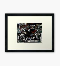 Awesome Ducati Framed Print